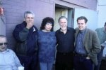 Billy Lee Riley, Barbara Pittman, Billy Swan, Jerry at Sun Studio Memphis in Oct. -96